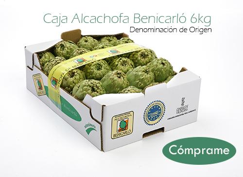 Alcachofas Benicarló Benihort 3,5kg