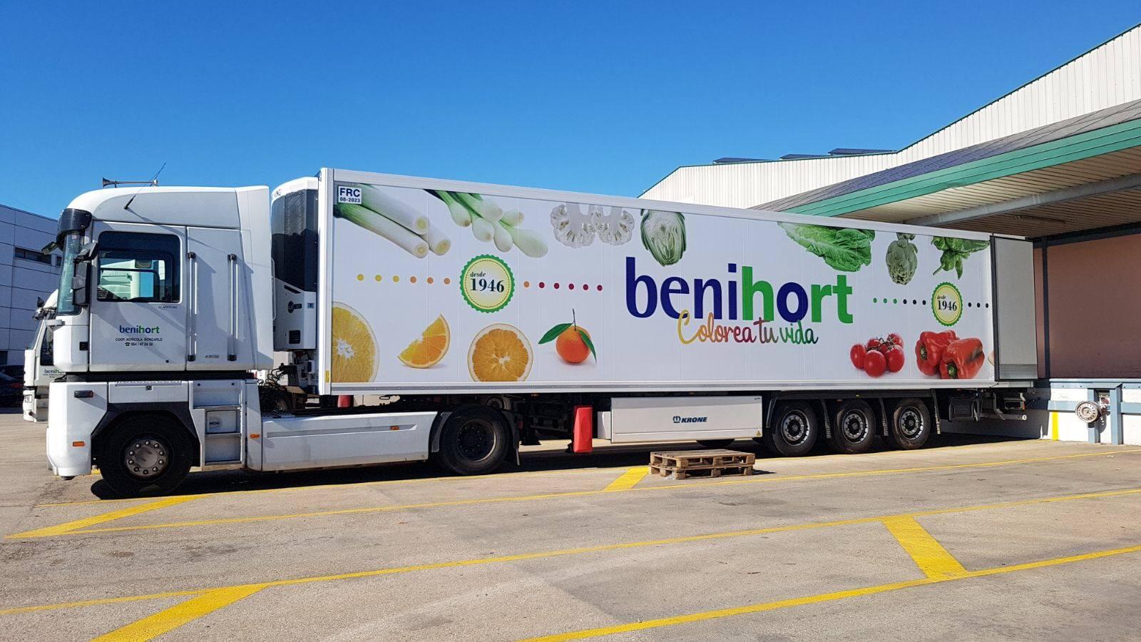 El nuevo tráiler de Benihort ya está en la carretera